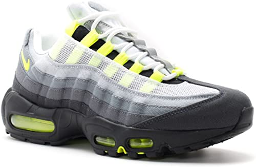 Nike Air Max 95 Néon OG Patch SP Blanc Jaune Fluo Trainer