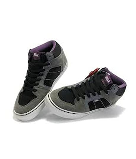 Vans Ellis Mid Skateboarding Shoes Black Charcoal Purple 6.5 M US Mens Black  Charcoal Purple 9e6c23dcf