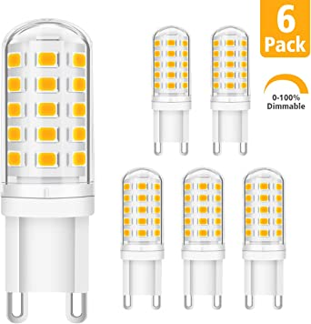 KINGSO G9 LED Dimmbar Warmweiß G9 Lampen 5W ersatz 40W
