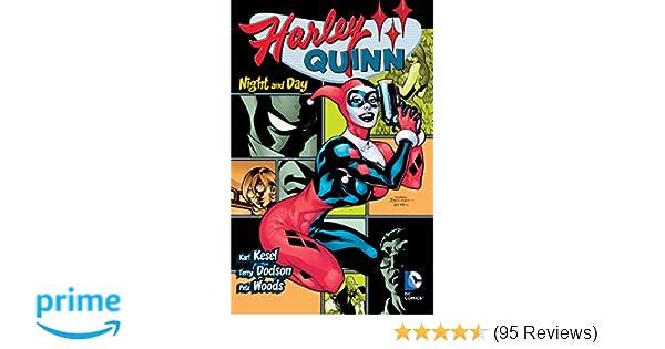6639eee109d1 Amazon.com  Harley Quinn  Night and Day (8601400570418)  Karl Kesel ...