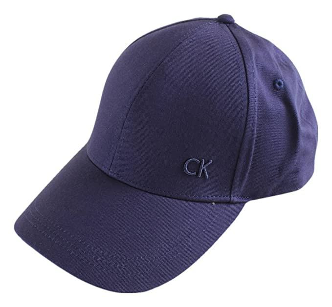 Calvin Klein Hats CK Baseball Cap - Blue Adjustable  Amazon.co.uk ... 4df54a36e6f