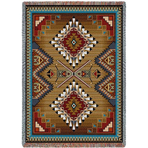 Pure Country Inc. Brazos Blanket Tapestry Throw - Pure Country Cotton Tapestry