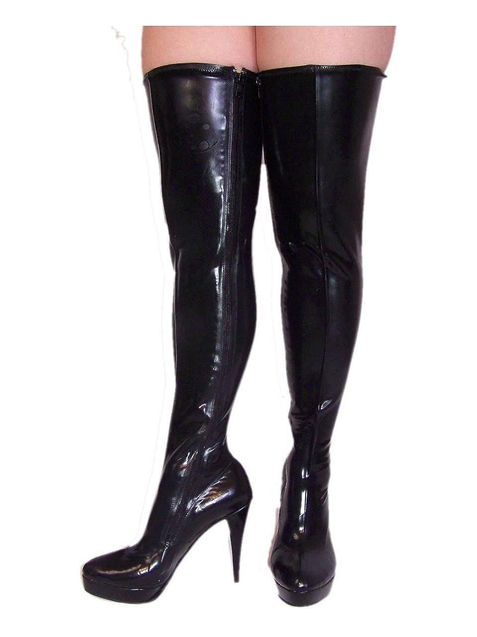 Latex Gummi Rubber Stiefel high Heel 13cm Bolingier Poland Größe 37-47 FS887