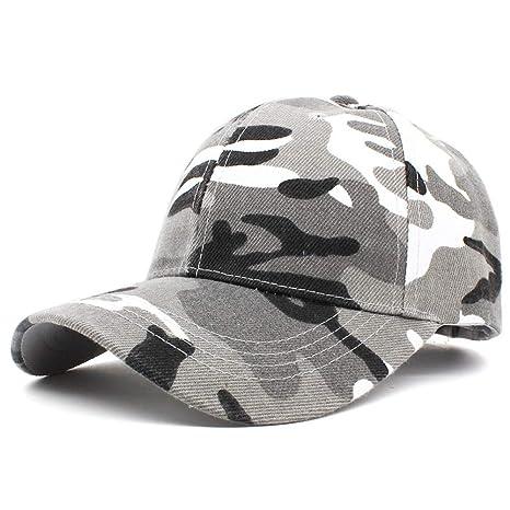 WBSNA Gorra de béisbol para Hombre Diseño de Camuflaje Gorra para ...