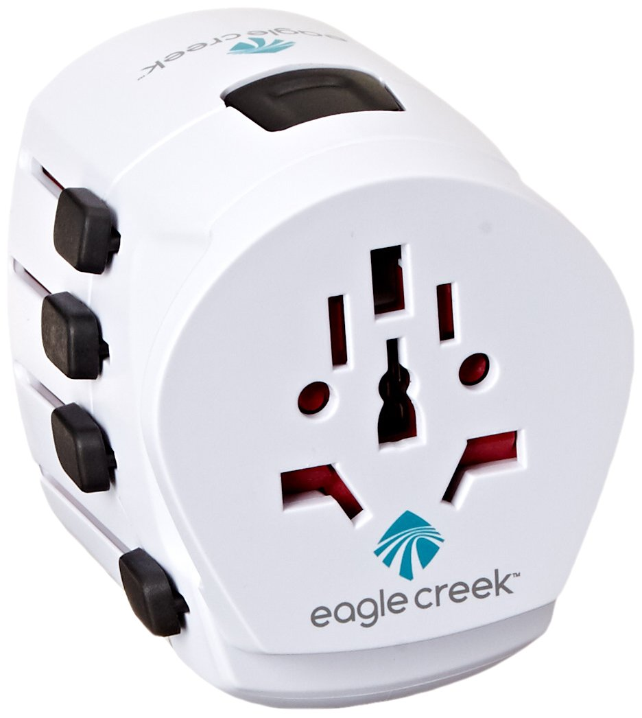 Eagle Creek Travel Gear USB Universal Adapter Pro, White, One Size