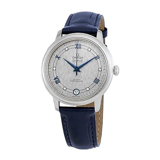 Omega De Ville Prestige 424.13.33.20.56.002 - Reloj automático para Mujer, Esfera de Color Gris: Amazon.es: Relojes