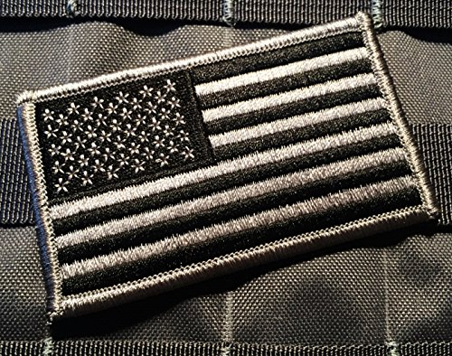 Black Wolf Grey Us Made American Us Patriotic Flag Durable U