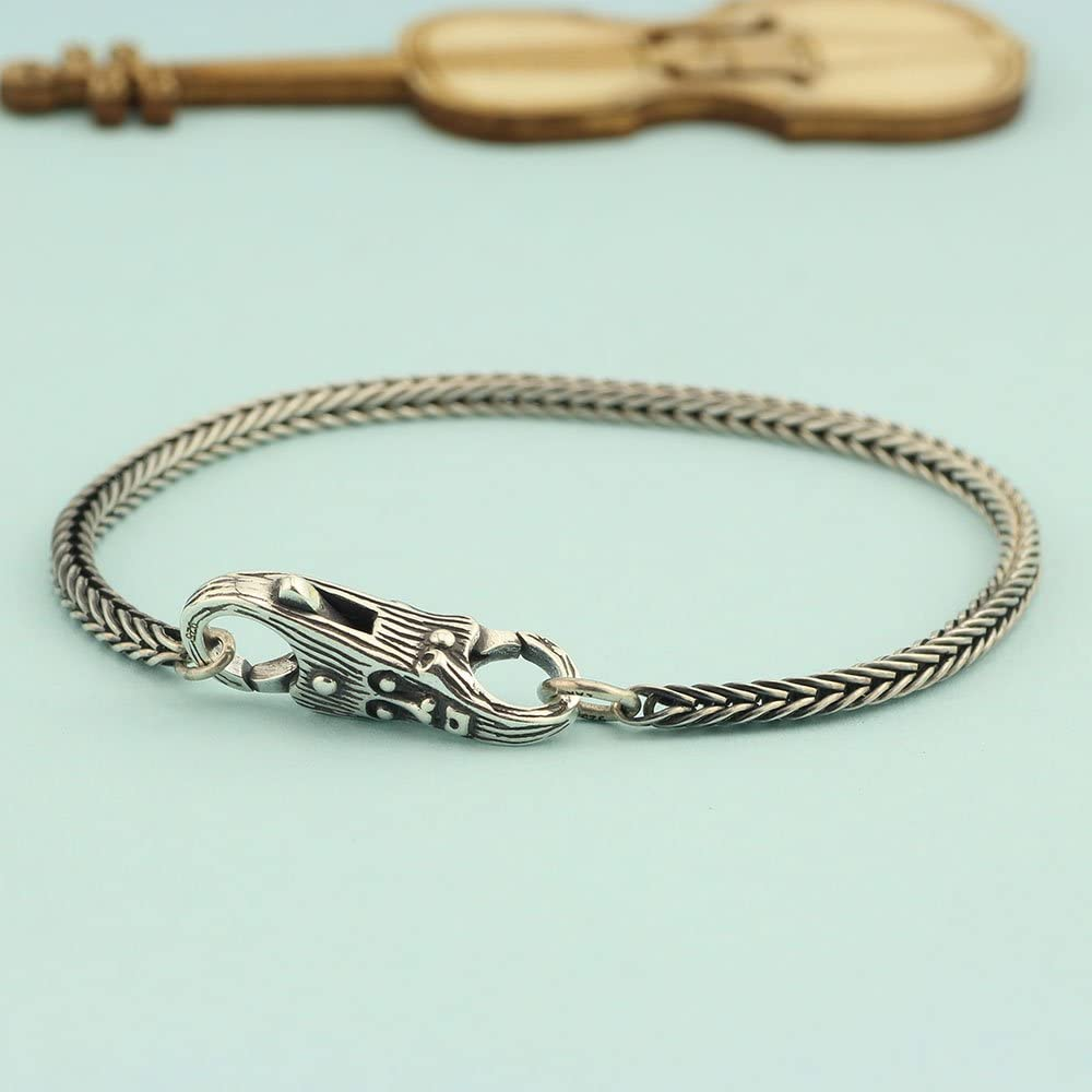 Color: G Calvas 925 Sterling Silver Charm Beads Tree Flower Locks Lobster Clasp for Women Fit for European Bracelets Jewelry DIY Bead