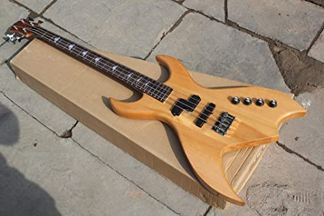 Guitarra de bajo eléctrico con 4 cuerdas, diapasón de palisandro ...
