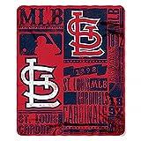 "MLB Licensed St. Louis Cardinals Established Fleece Throw Blanket (50""x60"")"