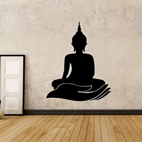 Amazon.com: TTDYLM Wall Stickers Vinyl vinilo Buda Art ...