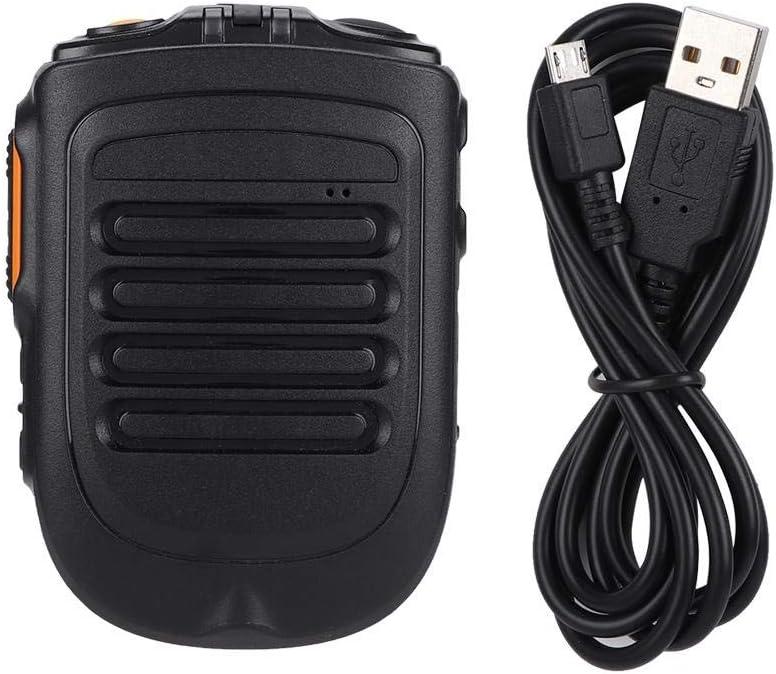 UNIWA BM001 Zello Walkie Talkie Handheld Bluetooth inalámbrico PTT Micrófono de Mano