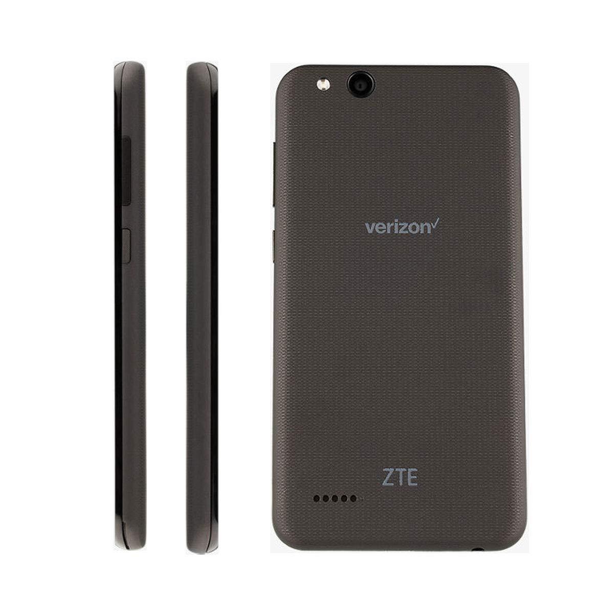 ZTE VZW-Z839PP Blade Vantage 5 16GB 1 1GHz 2GB Prepaid LTE Verizon  Smartphone, Black, Carrier Locked to Verizon Prepaid