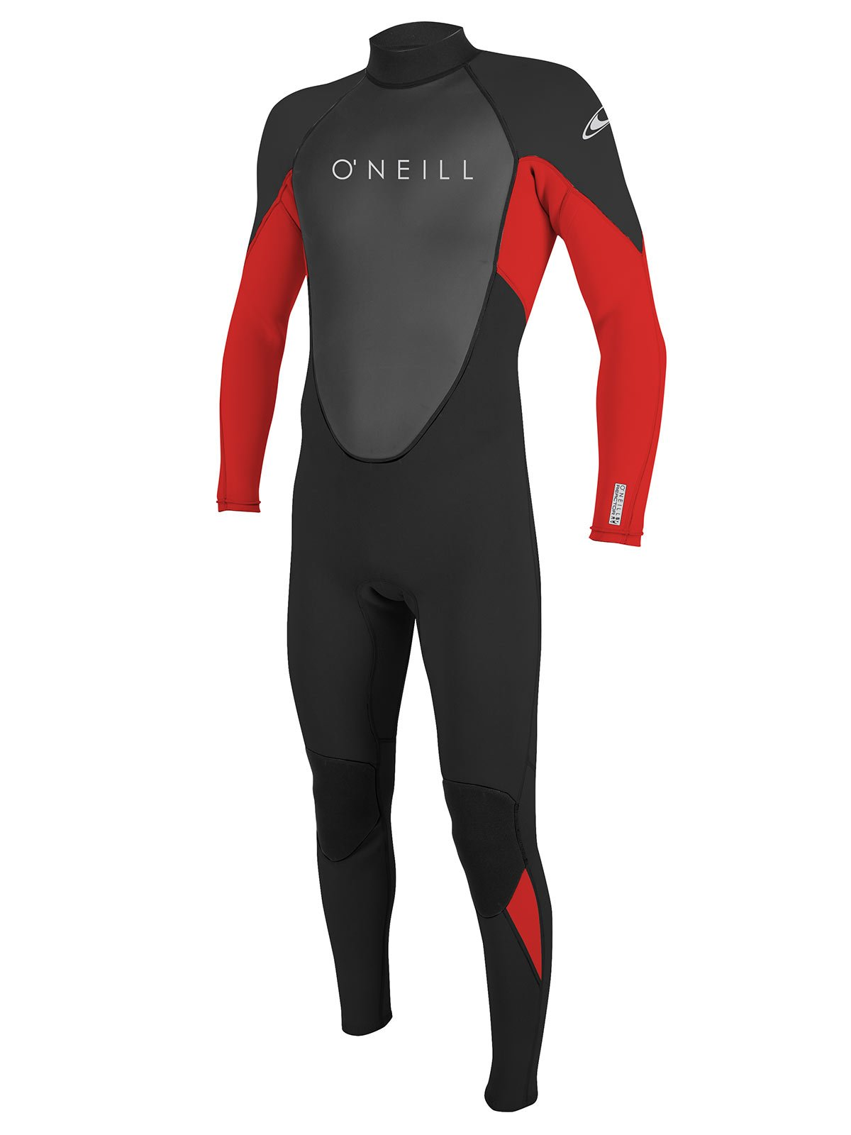 O'Neill Reactor 2 Men's 3/2mm Full Wetsuit M-Tall Black/red/black (5283IS) by O'Neill Wetsuits