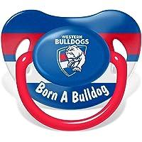 Western Bulldogs AFL Footy Baby Dummy