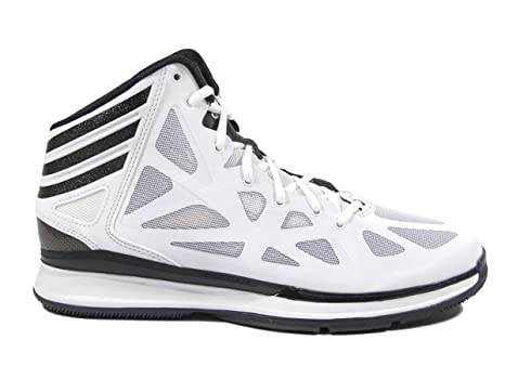 the latest 24661 fa693 Adidas Crazy Shadow 2 Scarpe da Basket da Uomo Bianco e Nero High Top,  Bianco