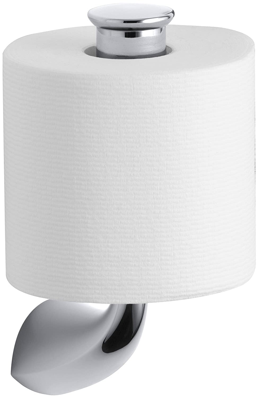 Kohler K 37056 CP Alteo Vertical Tissue Holder Polished Chrome Towel Rings
