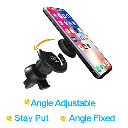 the latest a5daf a7951 Pop Socket Car Mount Cell Phone Popsocket Vent Holder Stay Put Clip Angle  Adjustable Cradle Accessories for Iphones Androids Phones with Standard ...