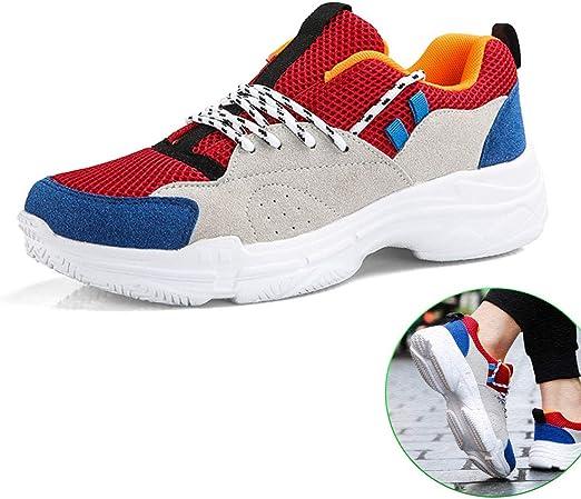 LH Primavera y Verano Tendencia Deportes Zapatos de los Hombres al Aire Libre Transpirable Antideslizante Desgaste Zapatillas de Running,38: Amazon.es: Hogar