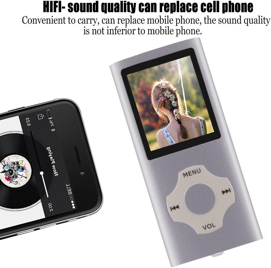 Lecteur de Musique /économique avec /écran de 1,8 Pouces Rouge Ueleknight Lecteur MP3 MP4 avec Carte Micro SD 16G Lecteur de Musique Num/érique Portable//Vid/éo//E-Book//Visualisation dimages