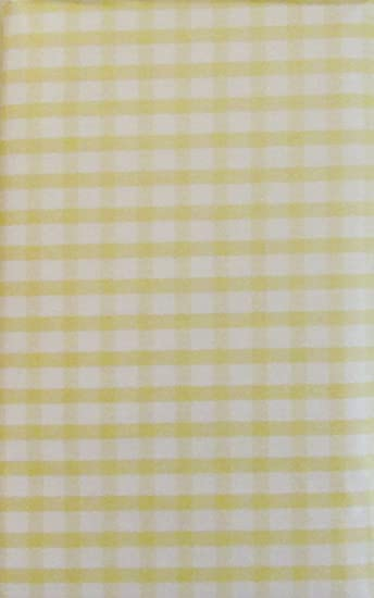 Merveilleux Gingham Check Vinyl Flannel Back Tablecloth (Pale Yellow, 52u0026quot; X  70u0026quot; ...
