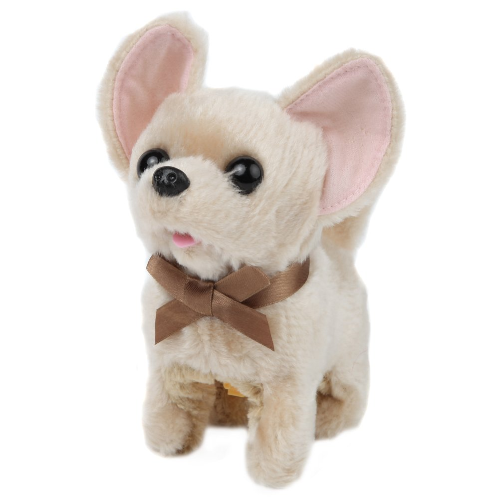 Amazon Com Plush Dancing Dog Chihuahua Sound And Motion Toy Dog