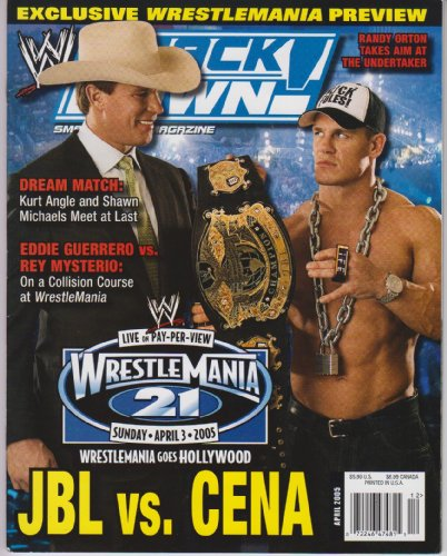 WWE Smackdown Magazine April 2005 ()
