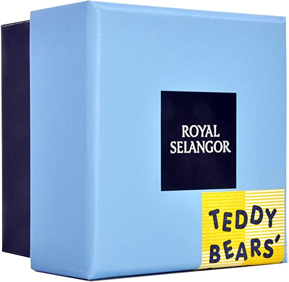 Royal Selangor Teddy Bear/'s Picnic Pewter Tooth box /'First Tooth/'