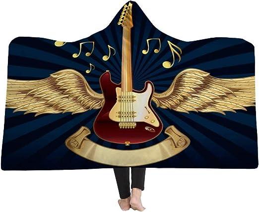 EVEYYBKMT Manta de Moda Guitarra eléctrica Gráfica Instrumento de ...