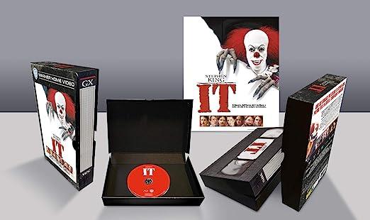 Stephen KingS It Vhs Vintage Pack Edizione Limitata Italia Blu-ray: Amazon.es: Cine y Series TV