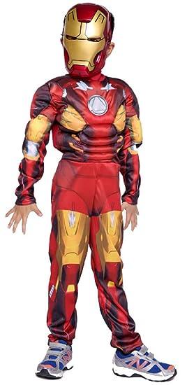 pequeños monelli Traje Iron Man bebé 7 - 10 años Vestido Super ...