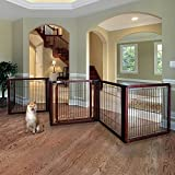 Richell Elite 6-Panel Convertible Pet Gate -