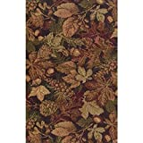Blazing Needles Tapestry Full Size Futon Cover in Autumn Harvest - 9'' and 10'' Full