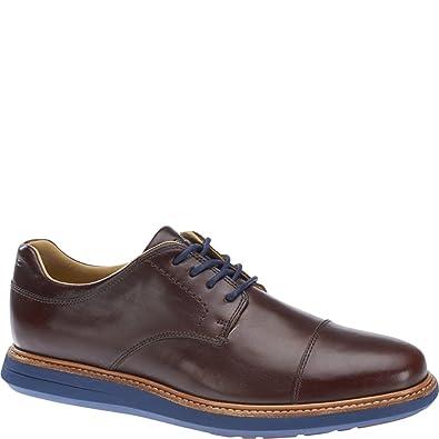 Sebago Men's Smyth Cap Toe,Dark Brown Full Grain Leather,US 10.5 D