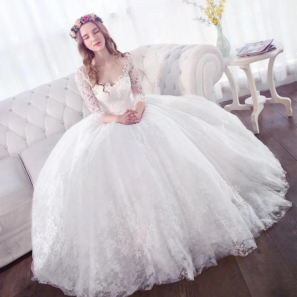 Amazon Slr One Shoulder Wedding Dress Bride Slim Simple