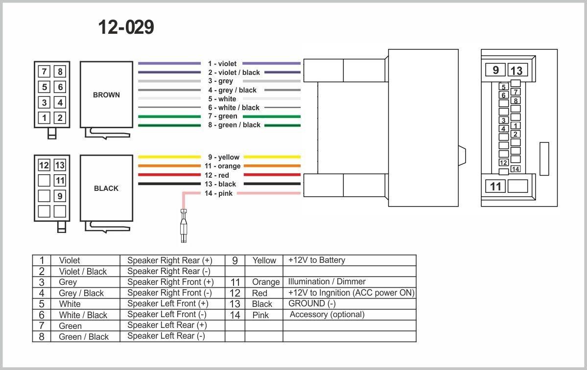 ZWNAV norma ISO cablaggio adattatore radio per Honda 2008 cablaggio per auto stereo lettore CD Plug