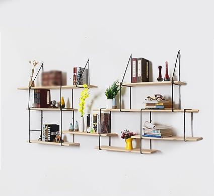 librerie Nordic parete in ferro battuto multistrato scaffale in ...