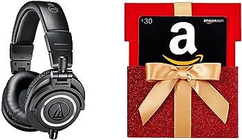 Audio-Technica Studio Monitor Headphones + $30 GC