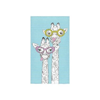 "interestprint jirafa personalizada toalla de baño toalla 30 ""X56"" toalla de mano 16"