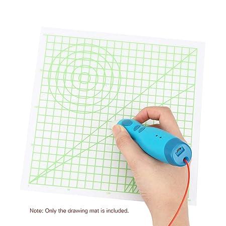 Basis Schablone Silikon Matte für 3d Drucken Pen Kunst Liefert Zeichenwerkzeug