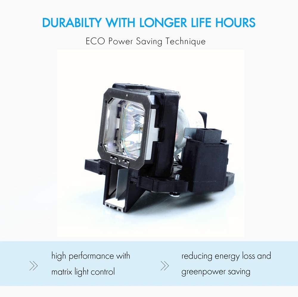 Awo-Lamps AN-K2LP//1 Bulb with Generic Housing for Sharp DT-400;XV-Z2000 180 Days Warranty by AWO