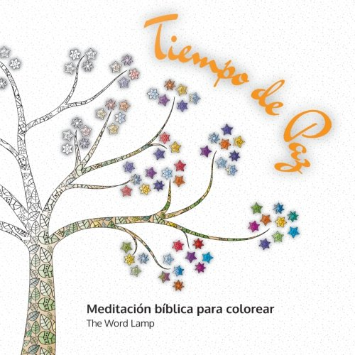 Tiempo de Paz: Meditación bíblica para colorear (Spanish Edition ...
