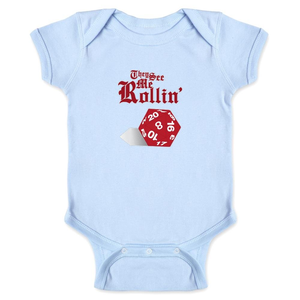 They See Me Rollin D20 Infant Bodysuit 1469-201