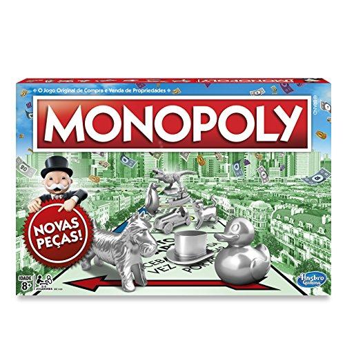 Jogo Gaming Monopoly, Hasbro, Verde/Vermelho