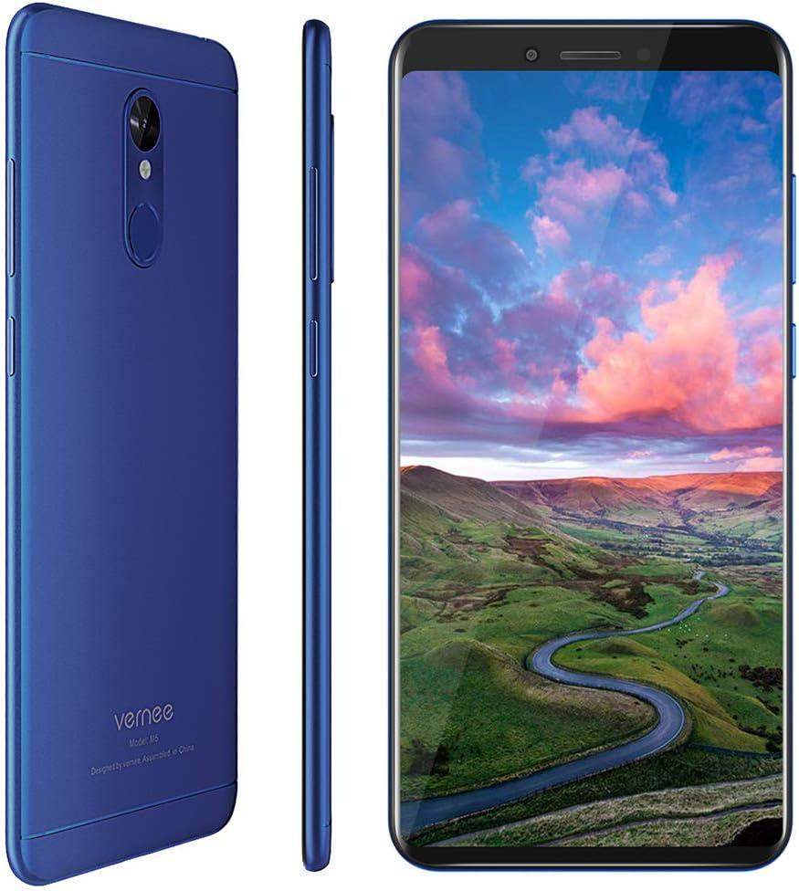 Vernee M6 Teléfono Móvil Android, Pantalla 5.7 Pulgadas, 3300 mAh, 4GB RAM+64GB ROM, Cámara Doble 16MP+13MP, Desbloqueo Rápido Huella, Dual SIM y Dual Navegación, Smartphone Libre 4G: Amazon.es: Electrónica