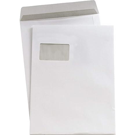 5 Estrellas(TM) Bolsas de envío C4 sk blanco Con Ventana 90 g/qm 250 Inh. - C4 sk blanco Con Ventana