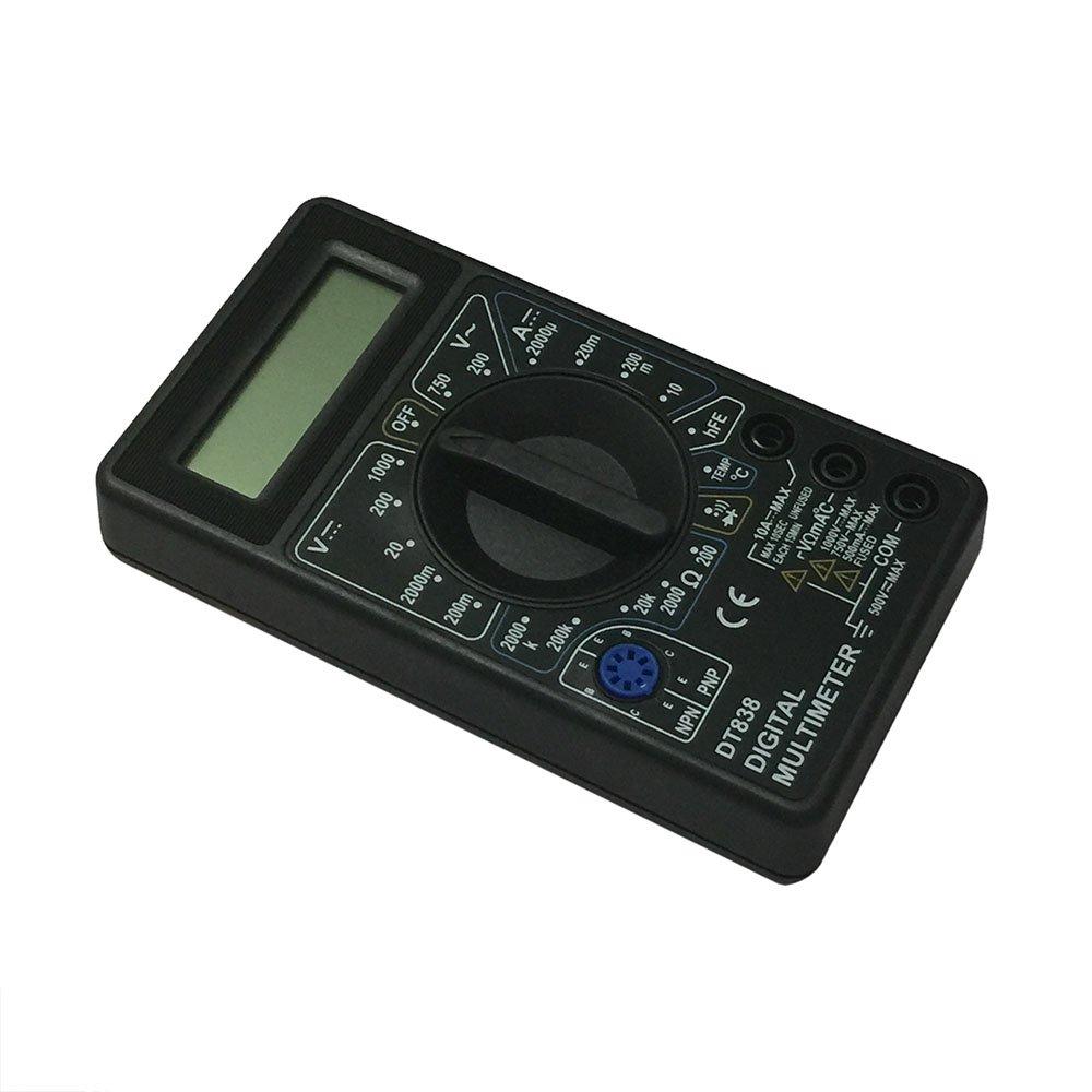 OLSUS DT838-1000V BK LCD Handheld Digital Multimeter for Home and Car - Black by OLSUS (Image #3)