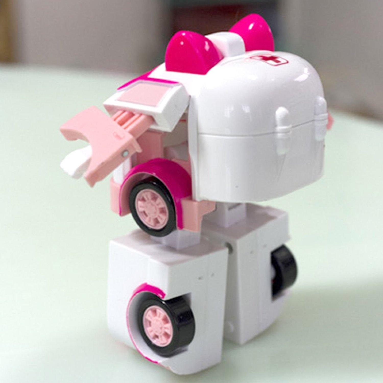 Amazon Robocar Poli Amber Transforming Robot Toy Toys