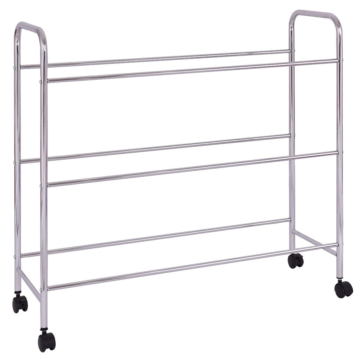 KCHEX>Toy Bin Cart Rack Organizer Kids Childrens Storage Box Playroom Bedroom Shelf>This is Our 9 Plastic Drawer Rolling cart, which is of and Brand New. Thanks to its Colorful Plastic by KCHEX (Image #6)