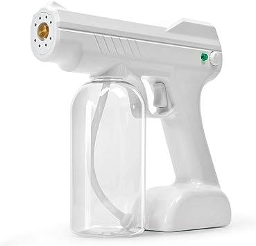 3x 800ml Nano Sanitizer Sprayer Disinfectant Fogger Machine Sanitizing White